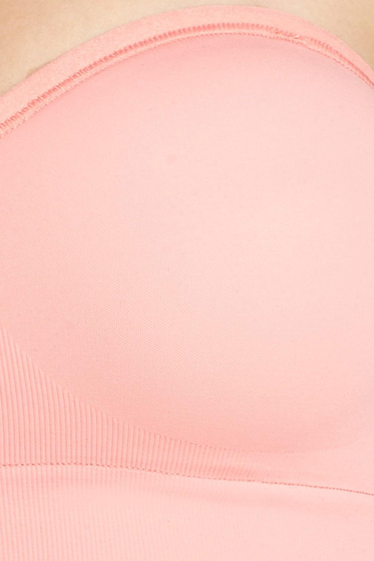 633fbeb62b52f Lyst - Yummie By Heather Thomson Peyton Convertible Wireless Bra in Pink