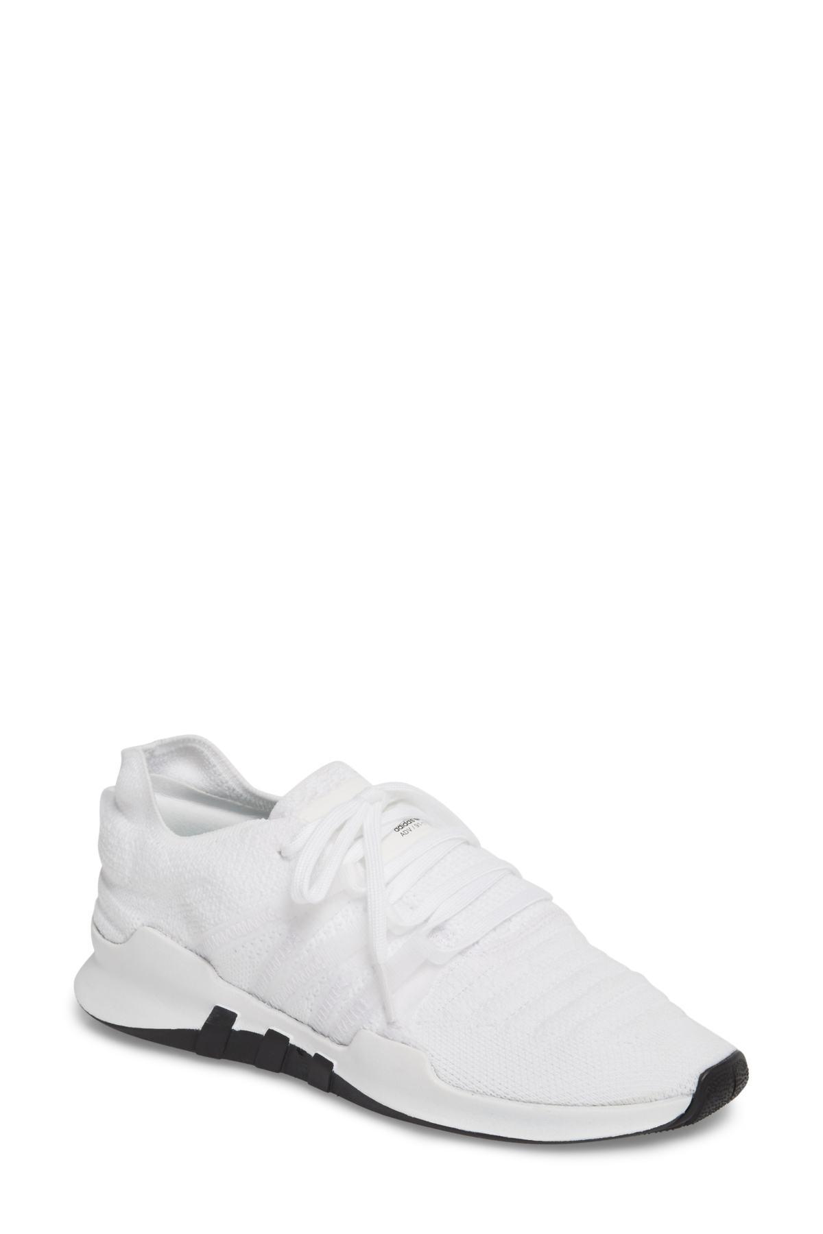 8680e71cb210 Lyst - adidas Eqt Racing Adv Primeknit Sneaker in White