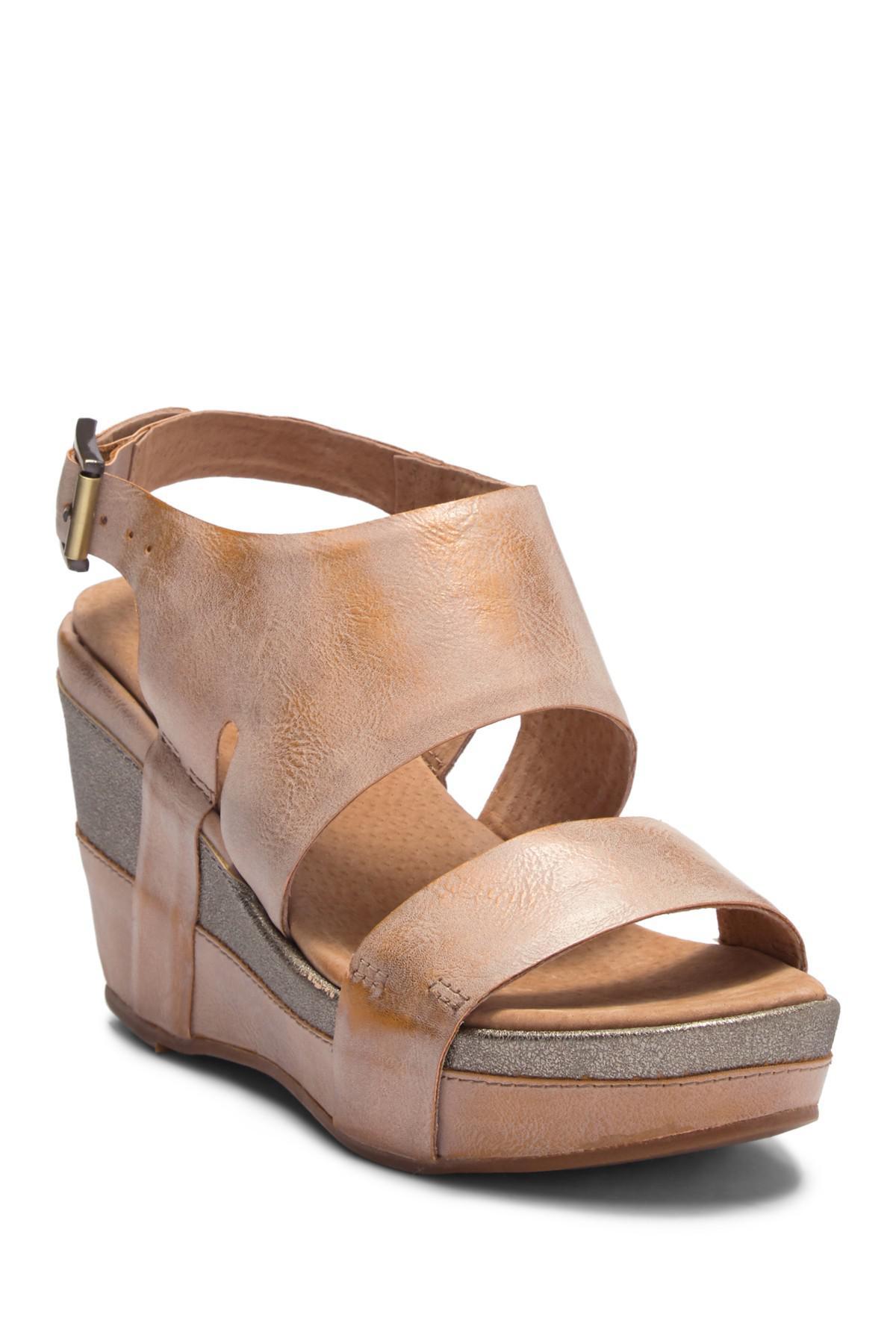 Antelope Cutout Slingback Wedge Sandal n3tr2X