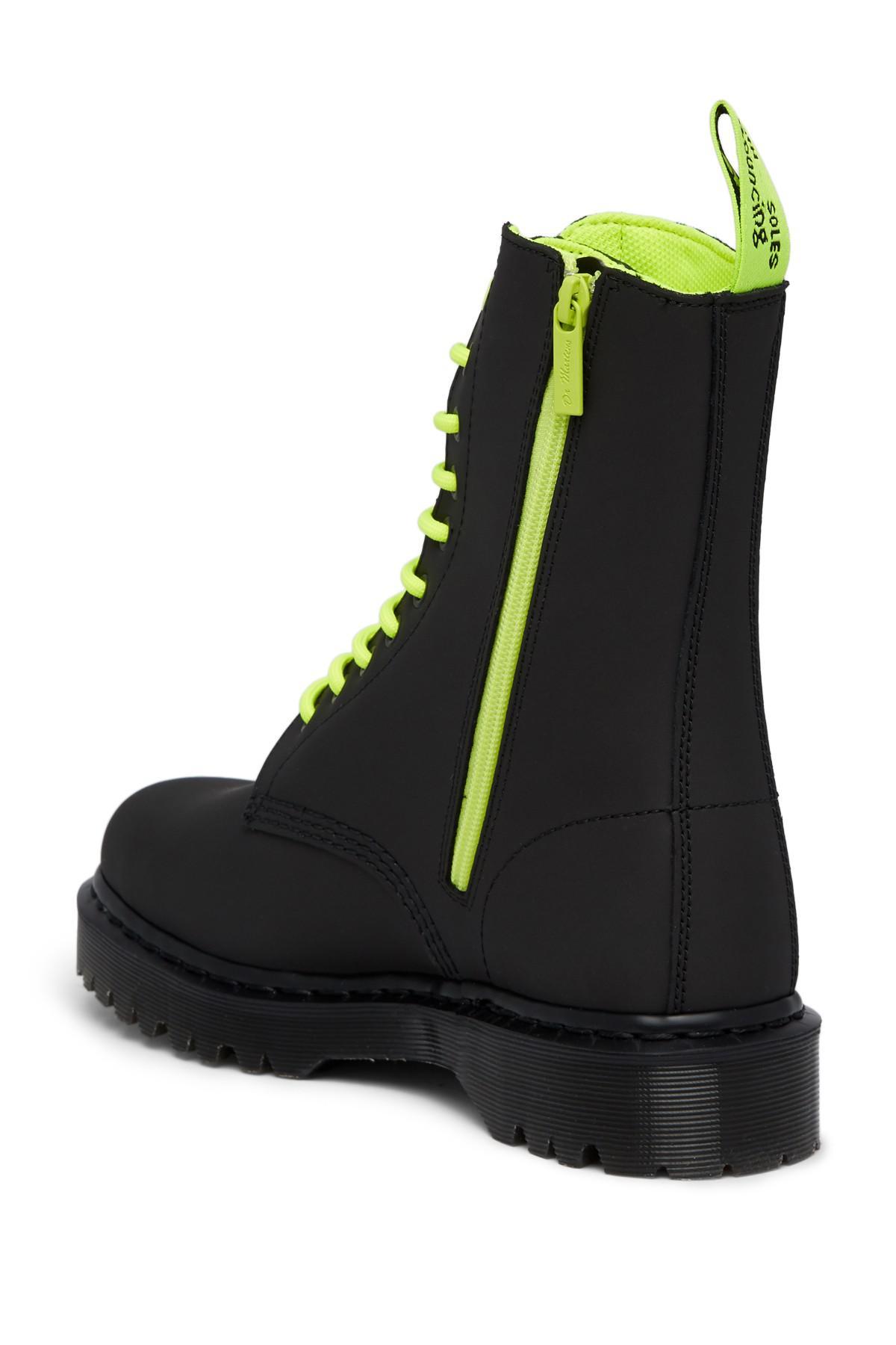 f097f5a7d0c Dr. Martens - Black 1490 Alt Boot for Men - Lyst. View fullscreen