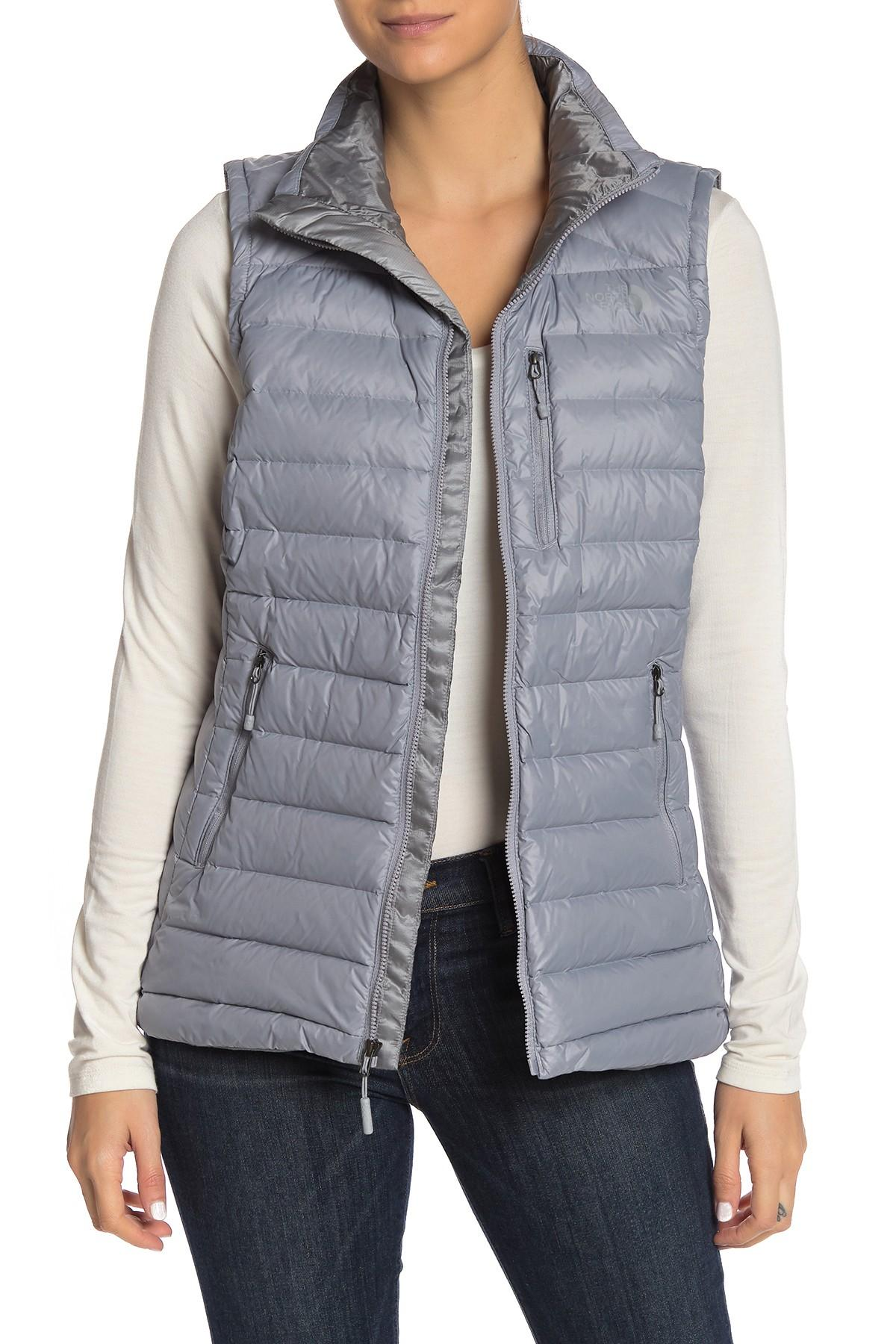 3f74eef373e7 Lyst - The North Face Mid Grey Morph Vest in Gray