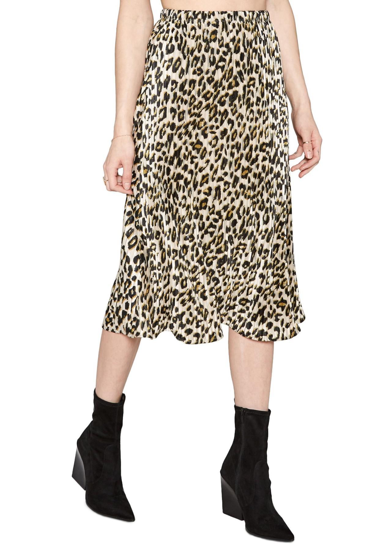 Lyst - Amuse Society Animal Instinct Midi Skirt e44eca5107c