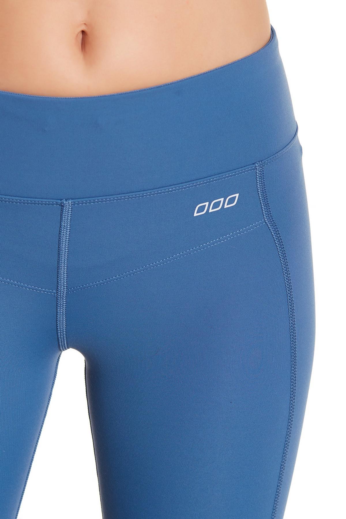 9389cc71ead9d Lorna Jane Booty Support Cropped Leggings in Blue - Lyst