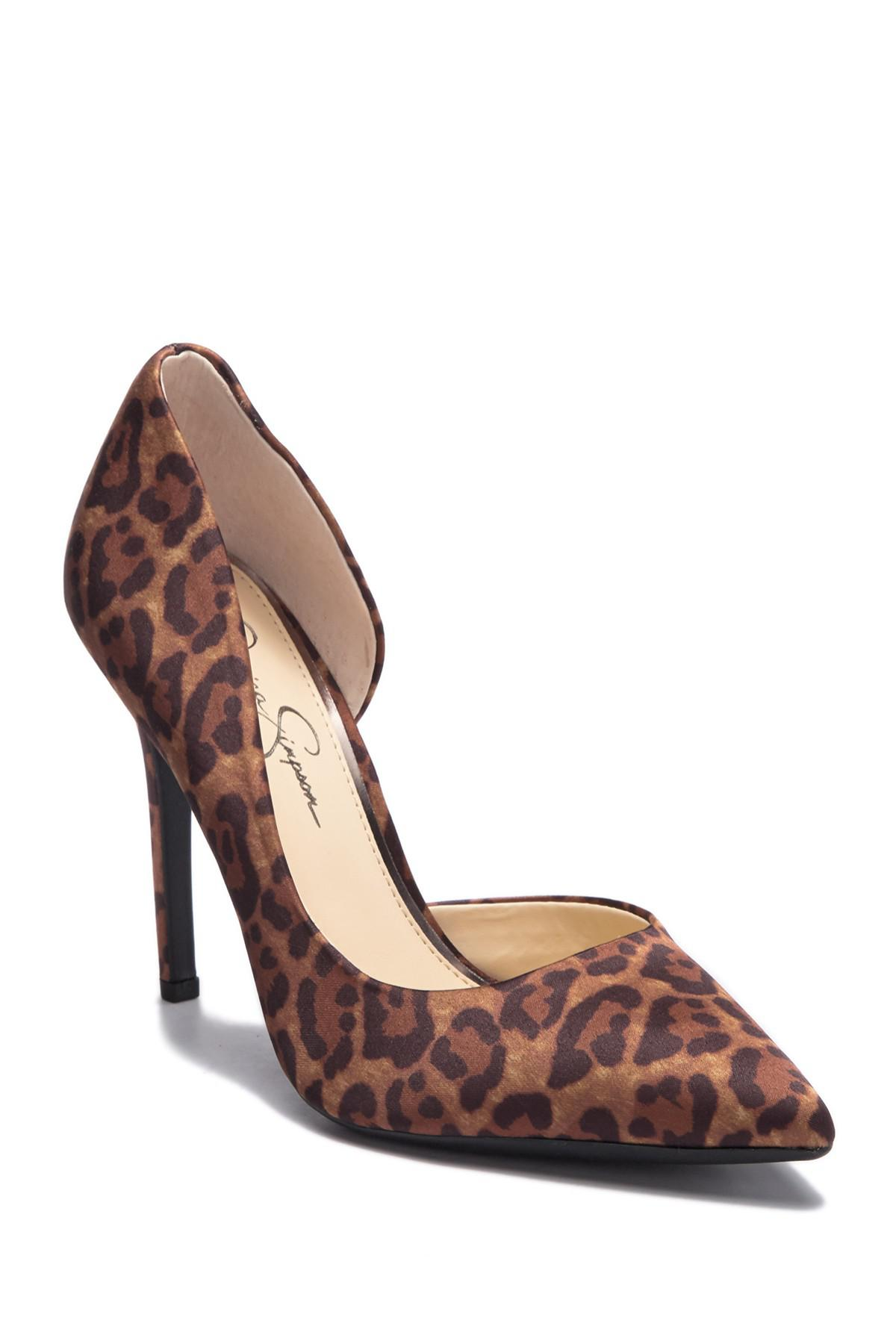 57e70aa31bf Lyst - Jessica Simpson Paryn D orsay Pump - Wide Width Available