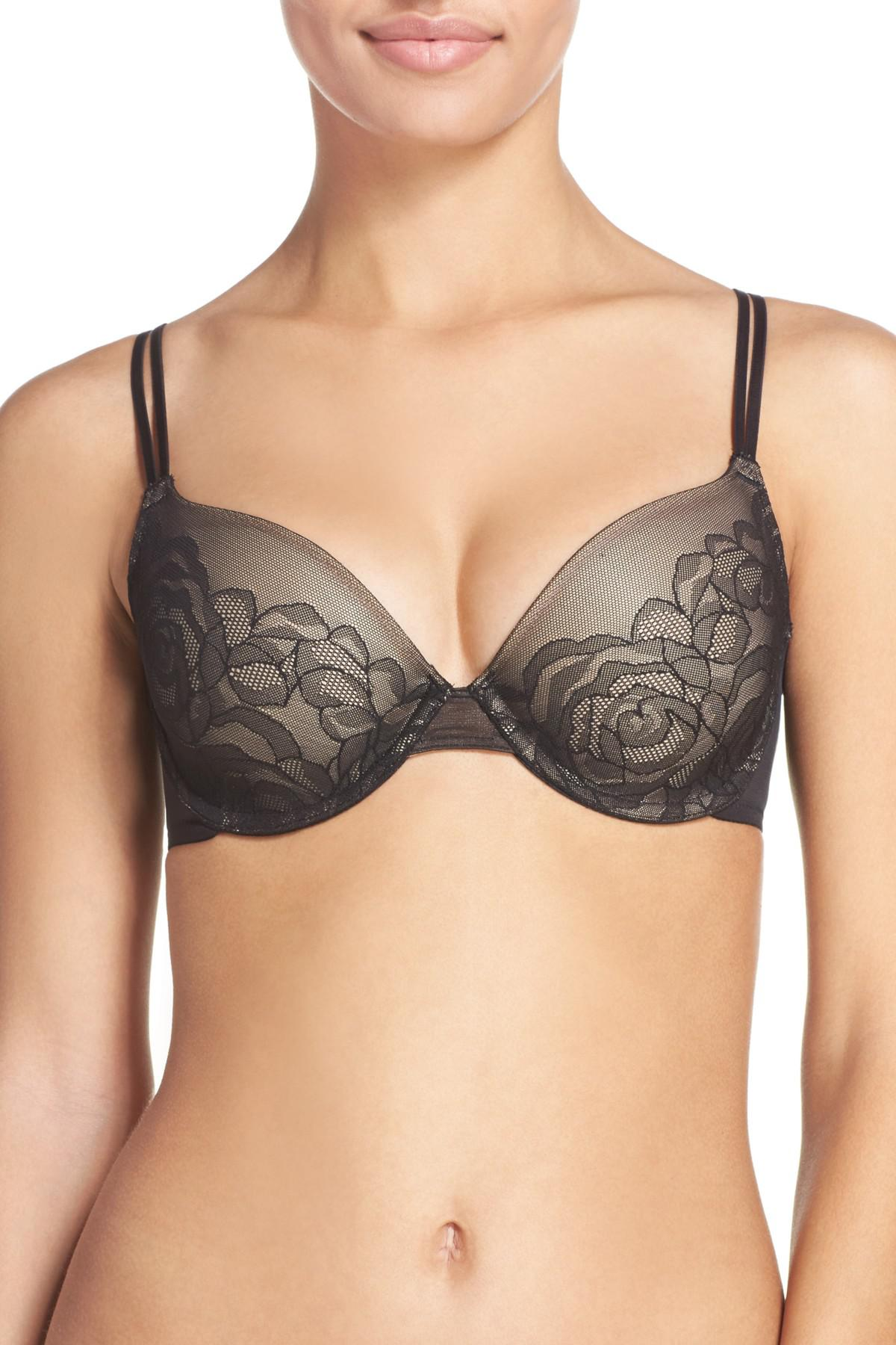 e06c9a5cff Lyst - Wacoal Stark Beauty Underwire Contour Bra in Black - Save 28%