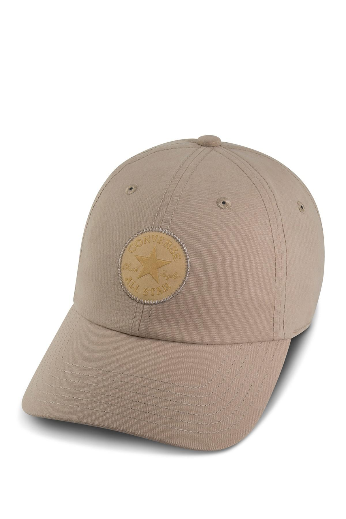 Lyst - Converse Monotone Core Baseball Cap in Natural 729592bb50d4