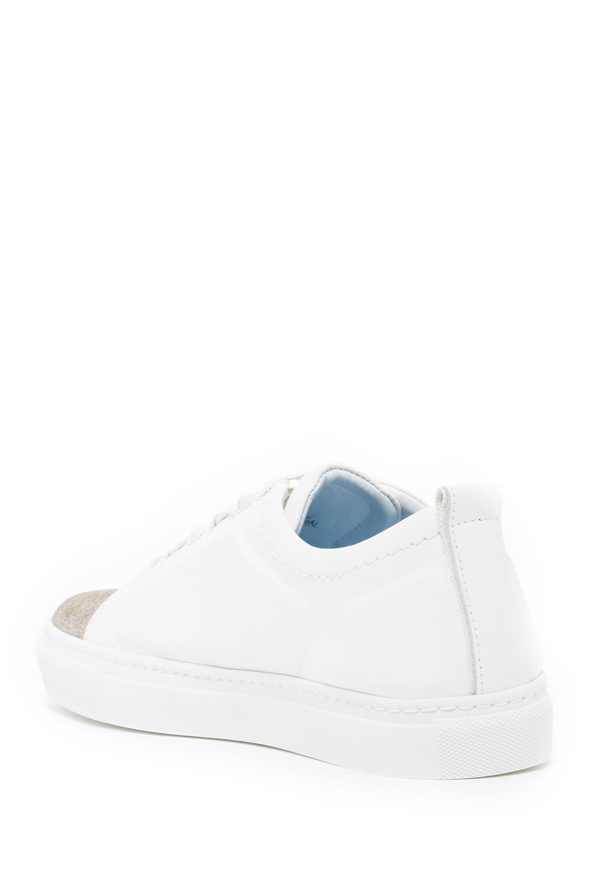 Lanvin Embossed Metallic Cap Toe Sneaker kkT1IH1