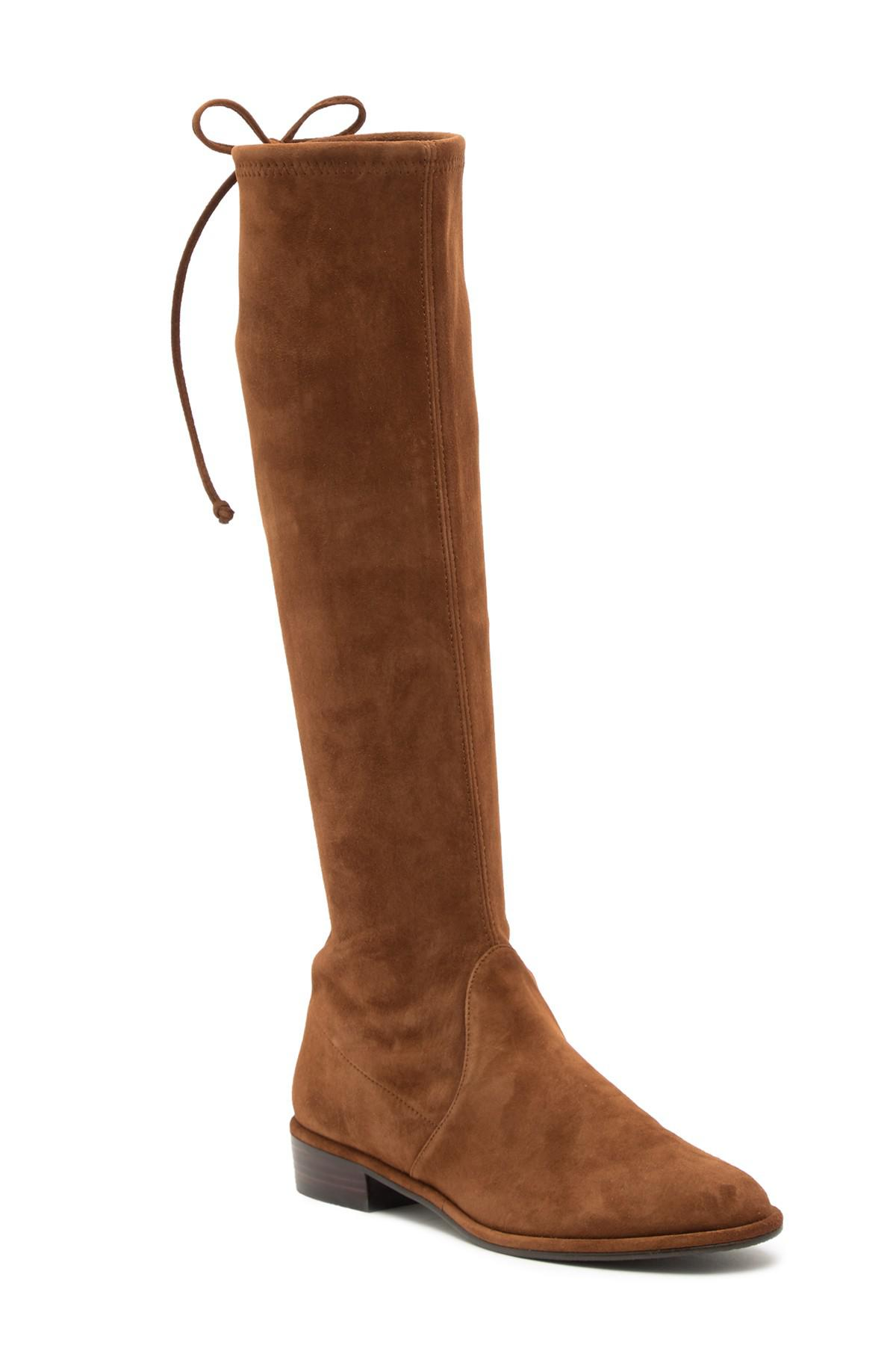 239e7b96677 Lyst - Stuart Weitzman Kneezie Boot in Brown