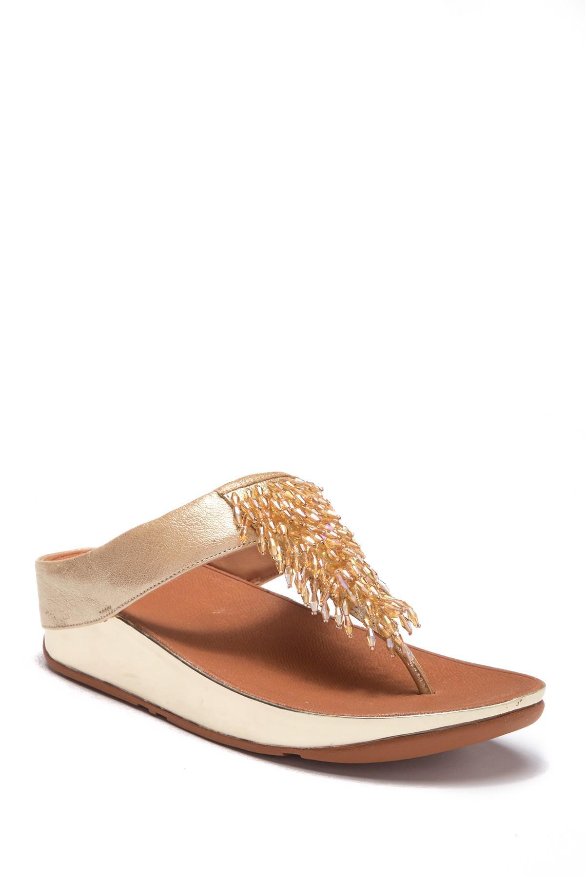 0e2ce60c5 Lyst - Fitflop Rumba Toe-thong Sandal