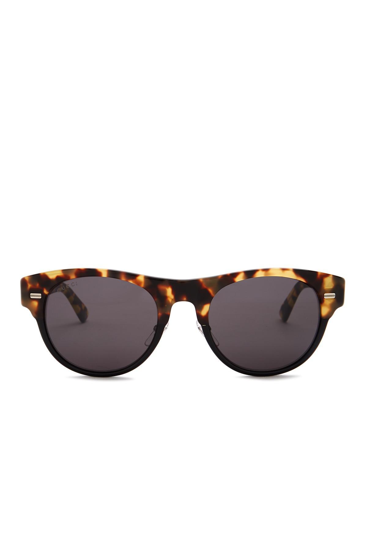 5f994763281 Lyst - Gucci 53mm Clubmaster Sunglasses for Men