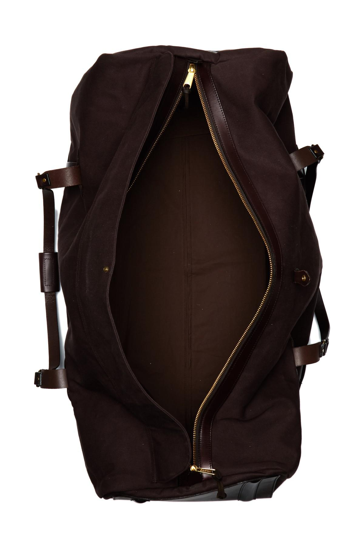16a0c9fbcbbe Lyst - Filson Extra Large Rolling Leather Trimmed Duffel in Brown ...