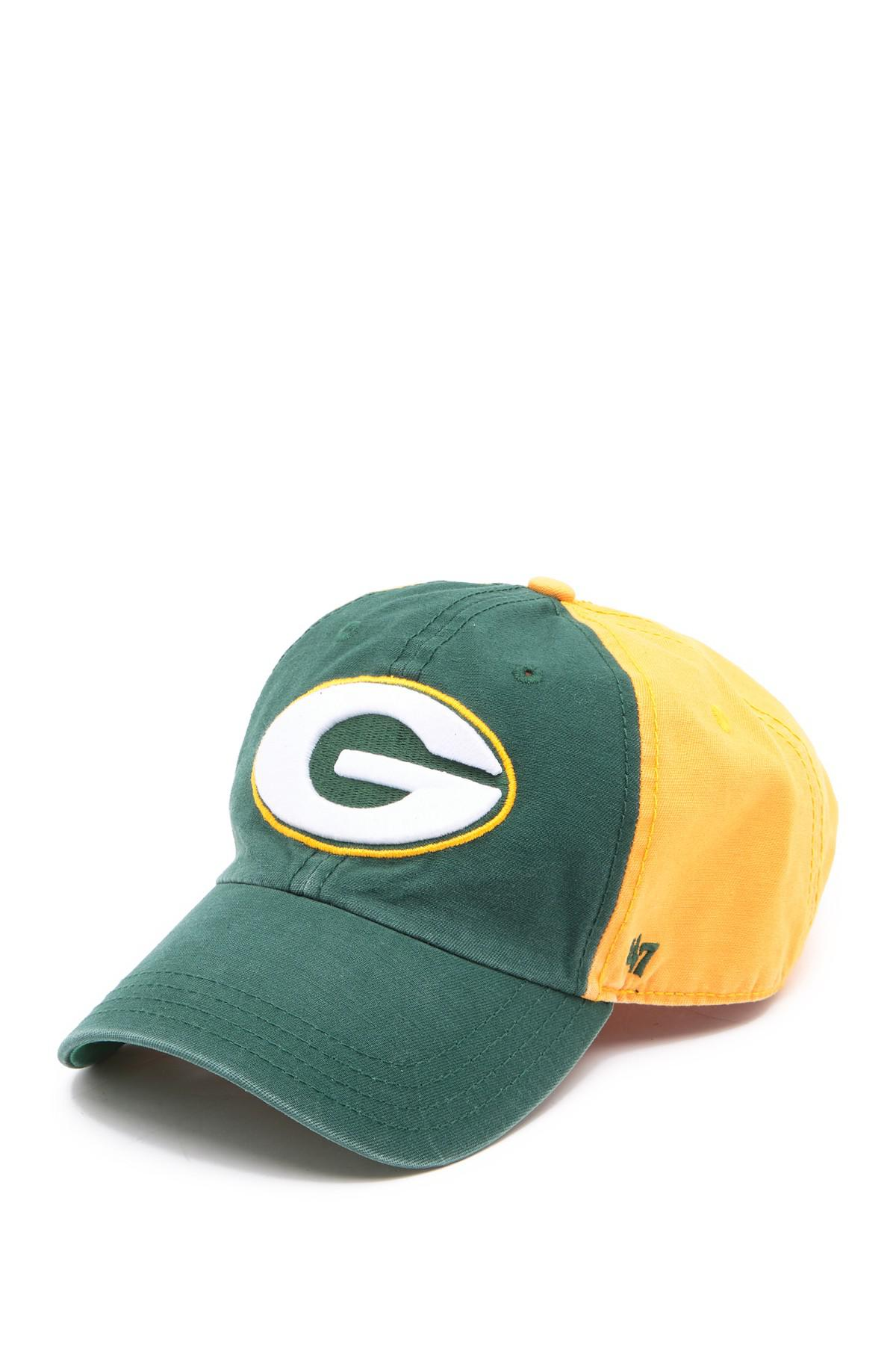 833e8e430b8eb Lyst - 47 Brand Nfl Flagstaff Packers Baseball Cap for Men