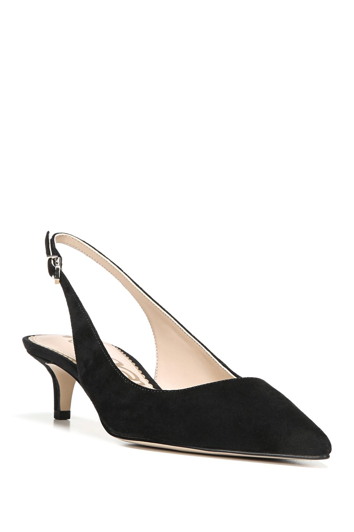 85a40827e9bd96 Lyst - Sam Edelman Ludlow Slingback Pump (women) in Black