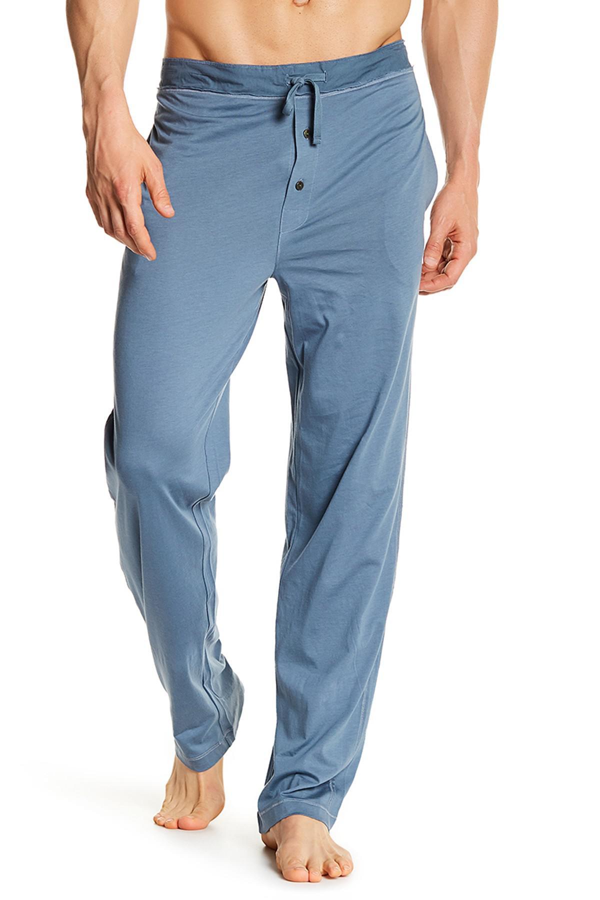 e4d8c0 jfk68 casual trouser in blue for men lyst