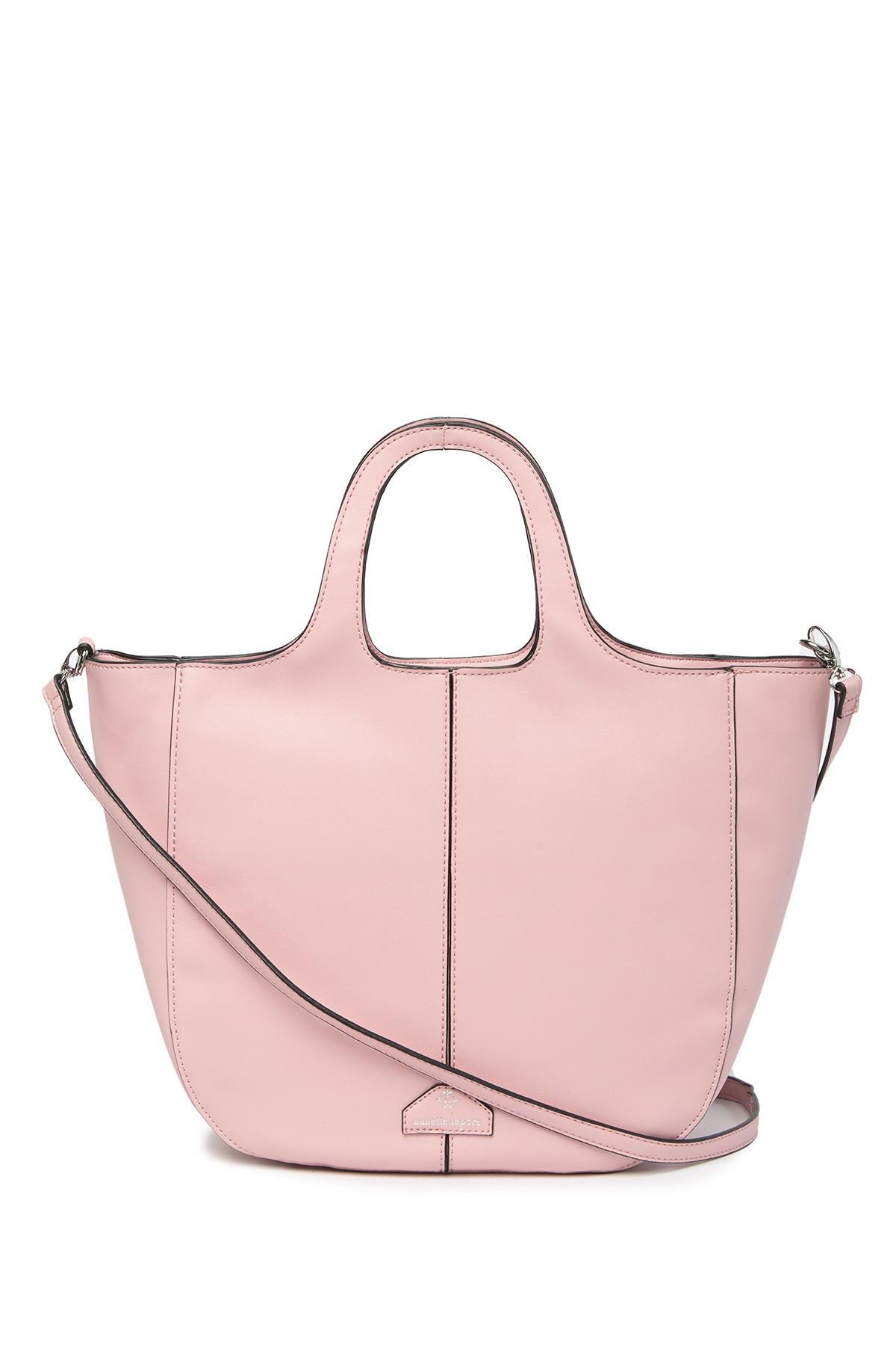 Lyst - Nanette Lepore Francesca Shoulder Bag in Pink 90e359320c5d7