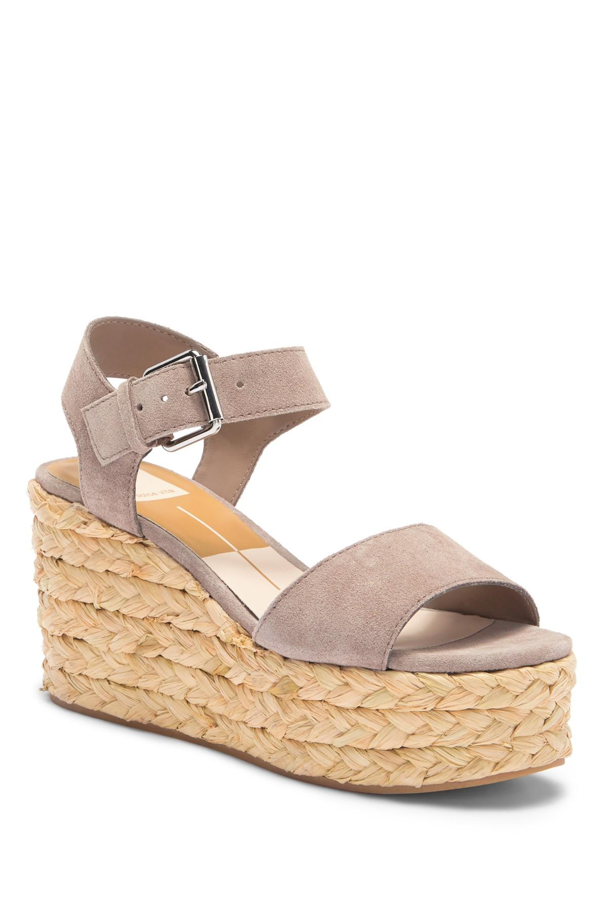 8874fc2ad08 Lyst - Dolce Vita Sacha Espadrille Platform Wedge Sandal
