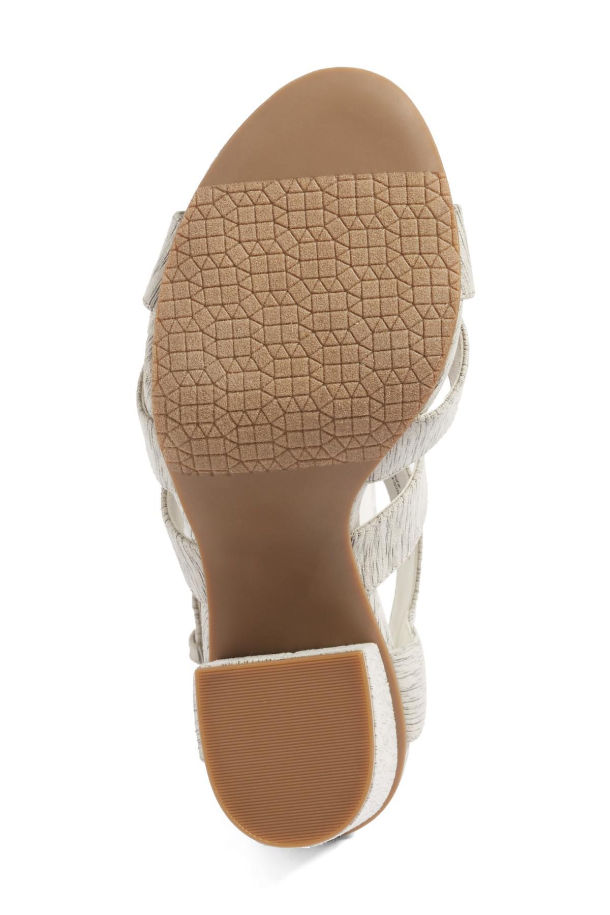 d3d91310ae9 Lyst - BP. Terry Block Heel Sandal in Gray