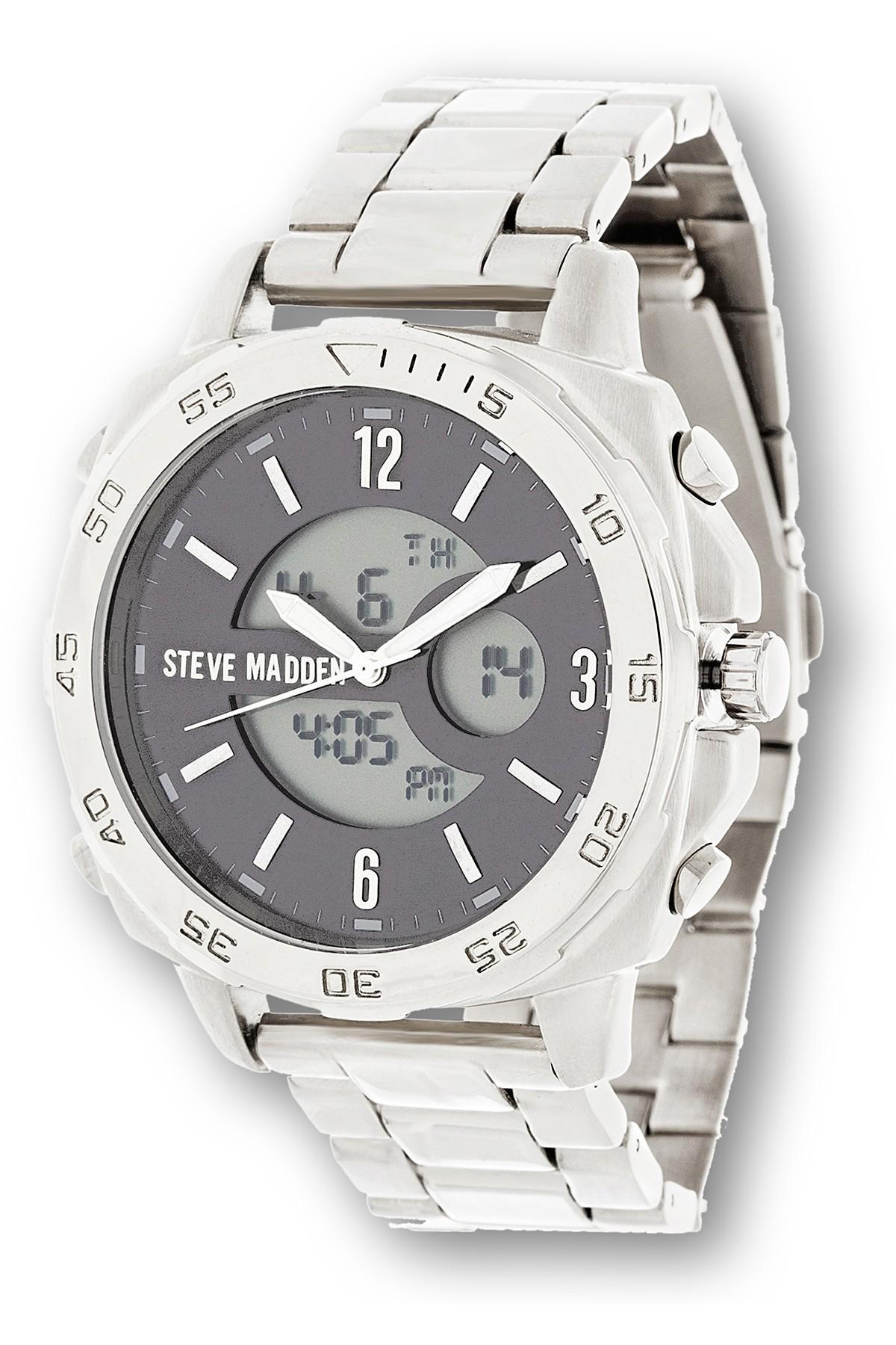 df0c3d12349 Lyst - Steve Madden Men s Analog Bracelet Watch