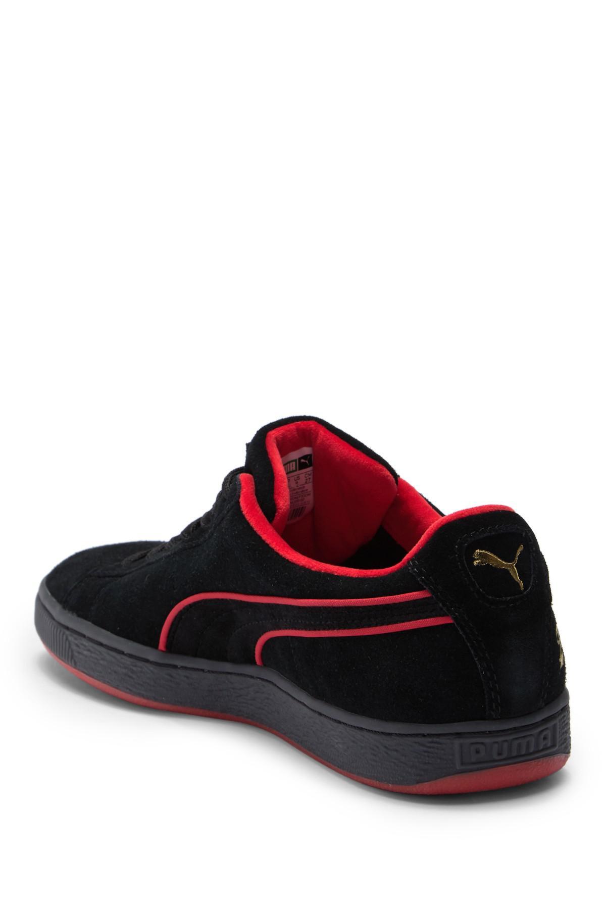 PUMA - Black Classic X Fubu Suede Sneaker for Men - Lyst. View fullscreen a0ca14ff8