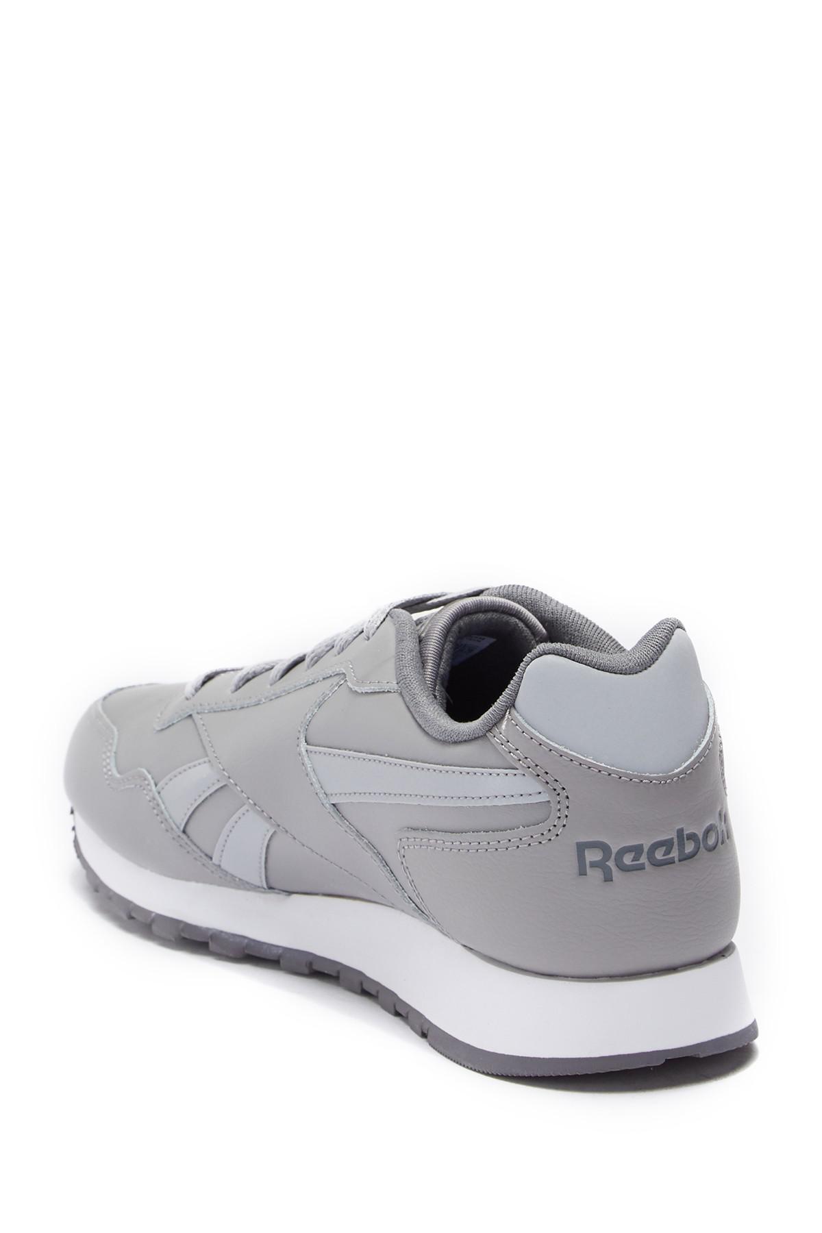 a454648137b26 Lyst - Reebok Classic Harman Leather Running Sneaker in Gray for Men