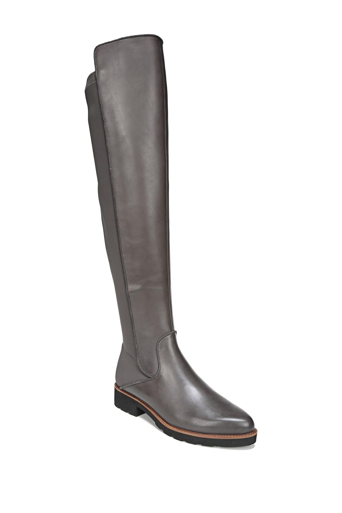 4946ccad2d6 Franco Sarto Benner Leather Over-the-knee Boot in Black - Save 38 ...
