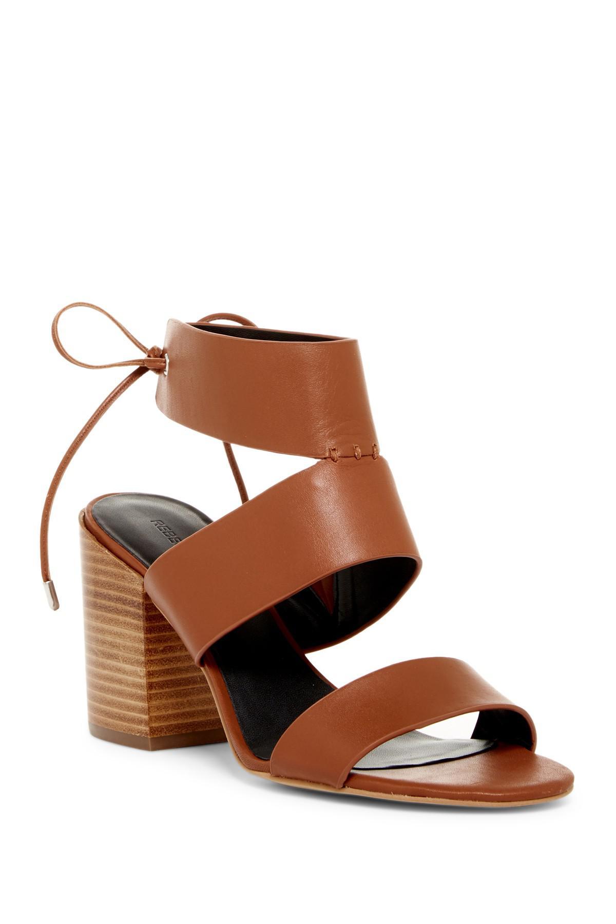 8b8eafe5706 Lyst - Rebecca Minkoff Christy Back Lace-up Sandal in Brown