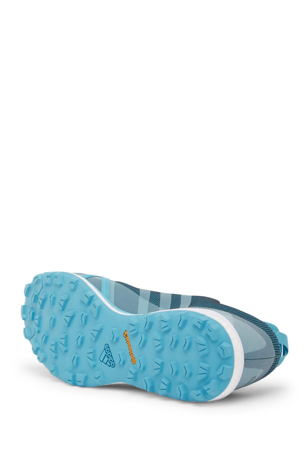 lyst adidas terrex agravic gtx tracce in scarpe da ginnastica in blu
