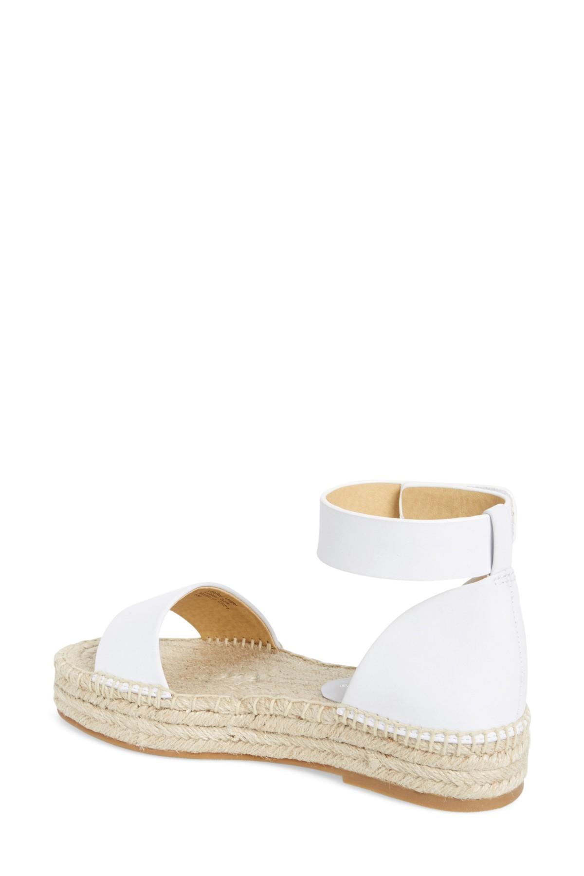 9d70c1225110 Lyst - Splendid Jensen Platform Espadrille Sandal (women) in White