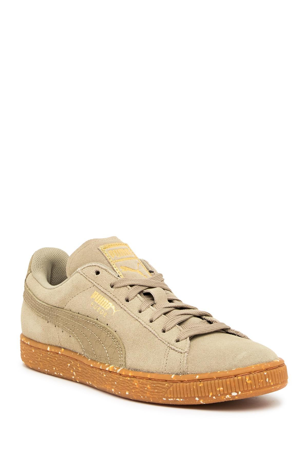 Lyst - PUMA Suede Classic Ft Sneaker in Brown for Men 15e5f5a77