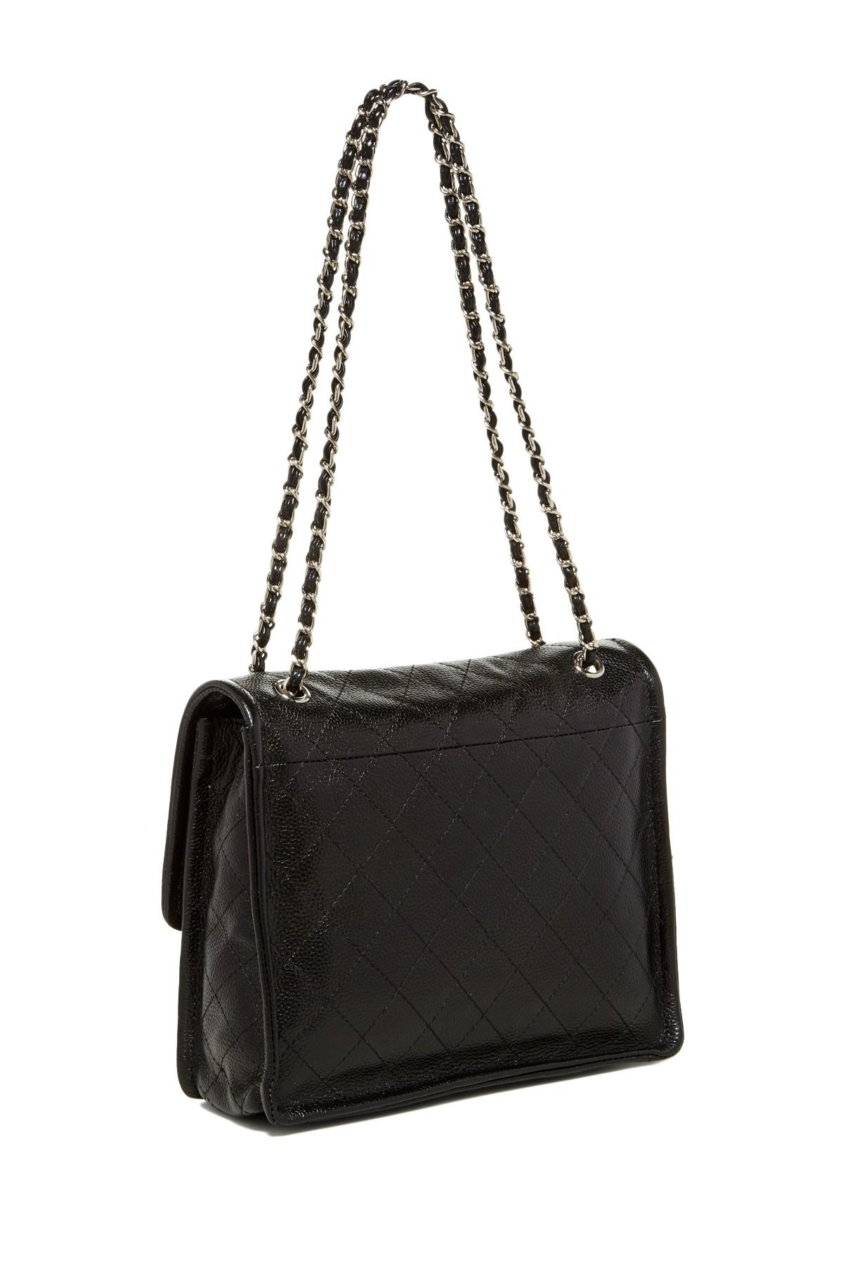 Zenith Quilted Shoulder Bag With Chain 81