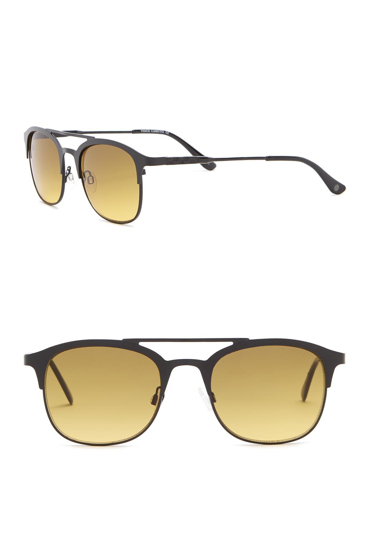 6728b4c71 Vince Camuto Retro Clubmaster Sunglasses for Men - Lyst