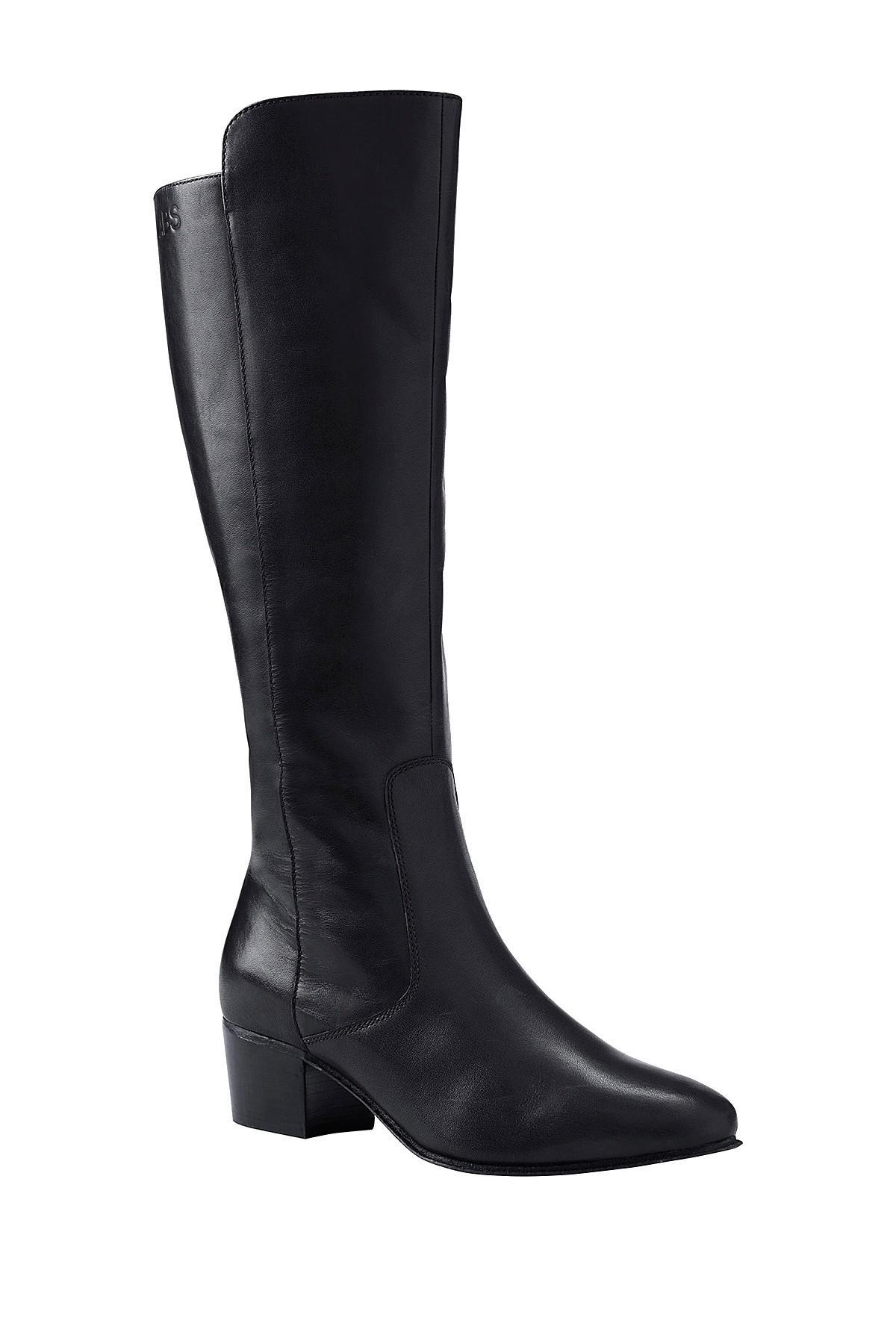 lands end dress boot in black lyst