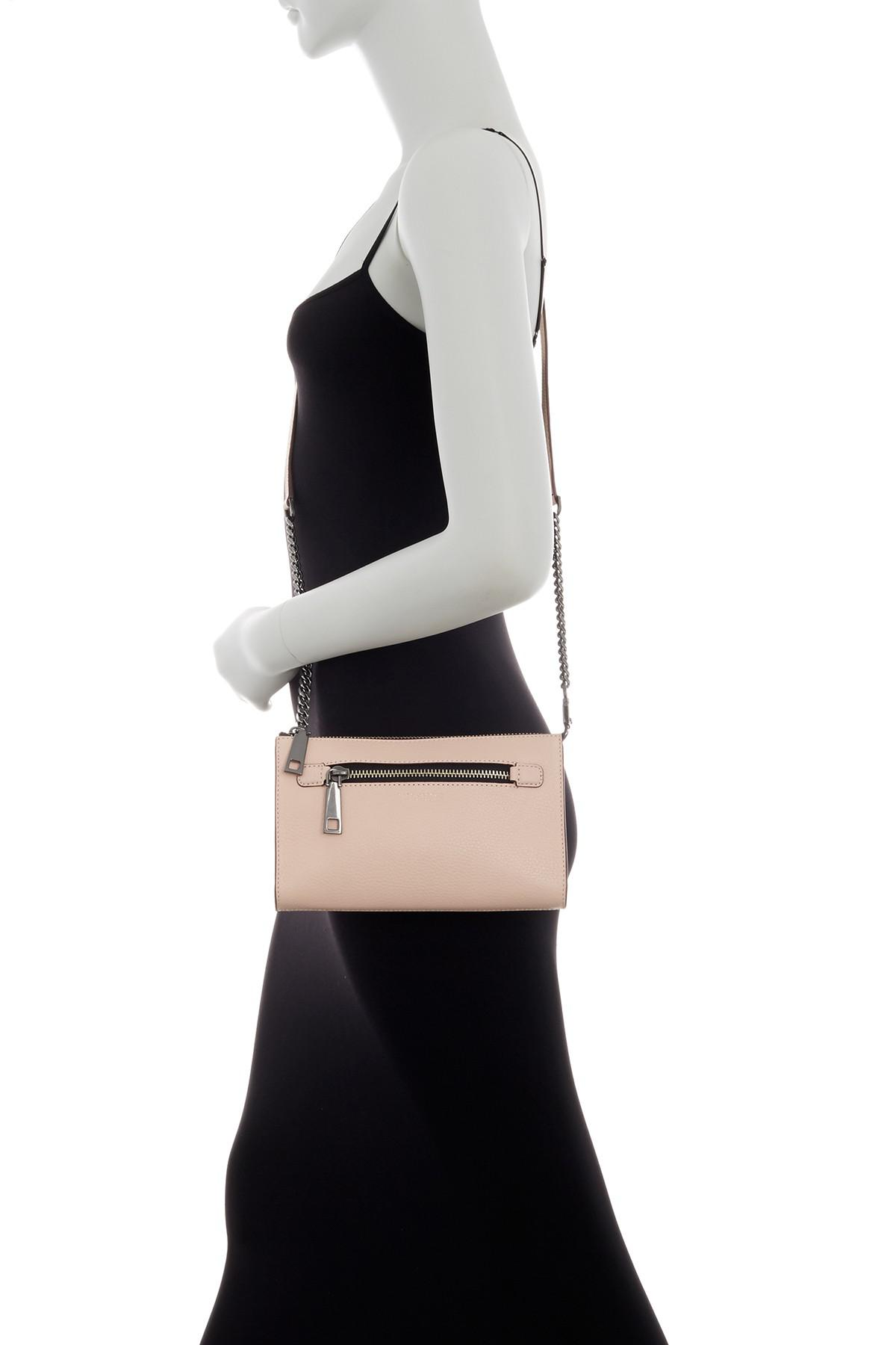 56cac7166f Lyst - Marc Jacobs Small Leather Crossbody Bag in Black