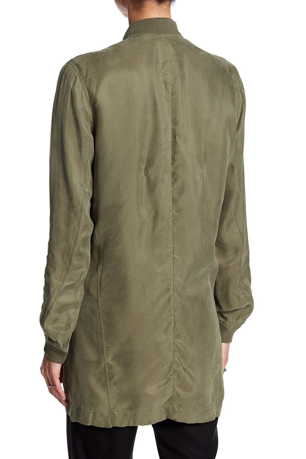 Fate Zip Jacket In Green Lyst