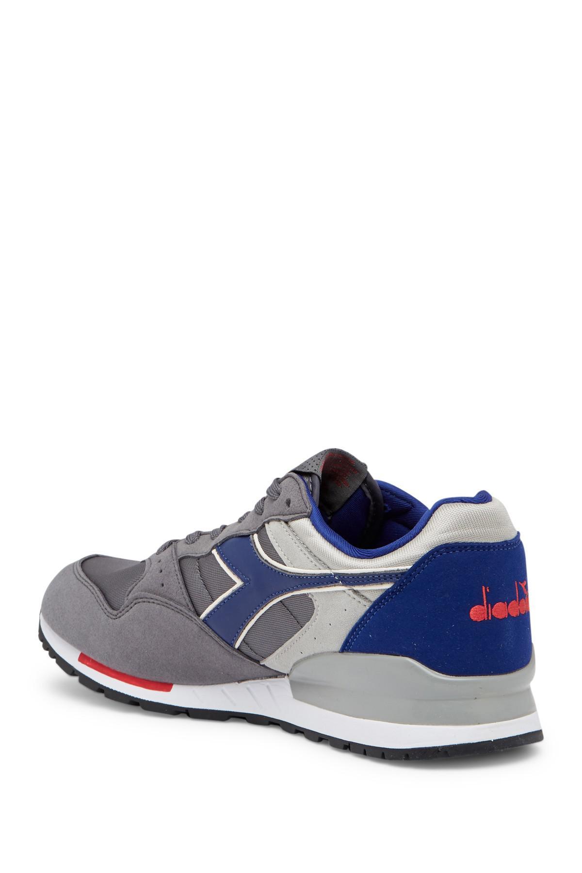 Lyst Diadora Intrepid Nylonleather Sneaker in Blue for Men