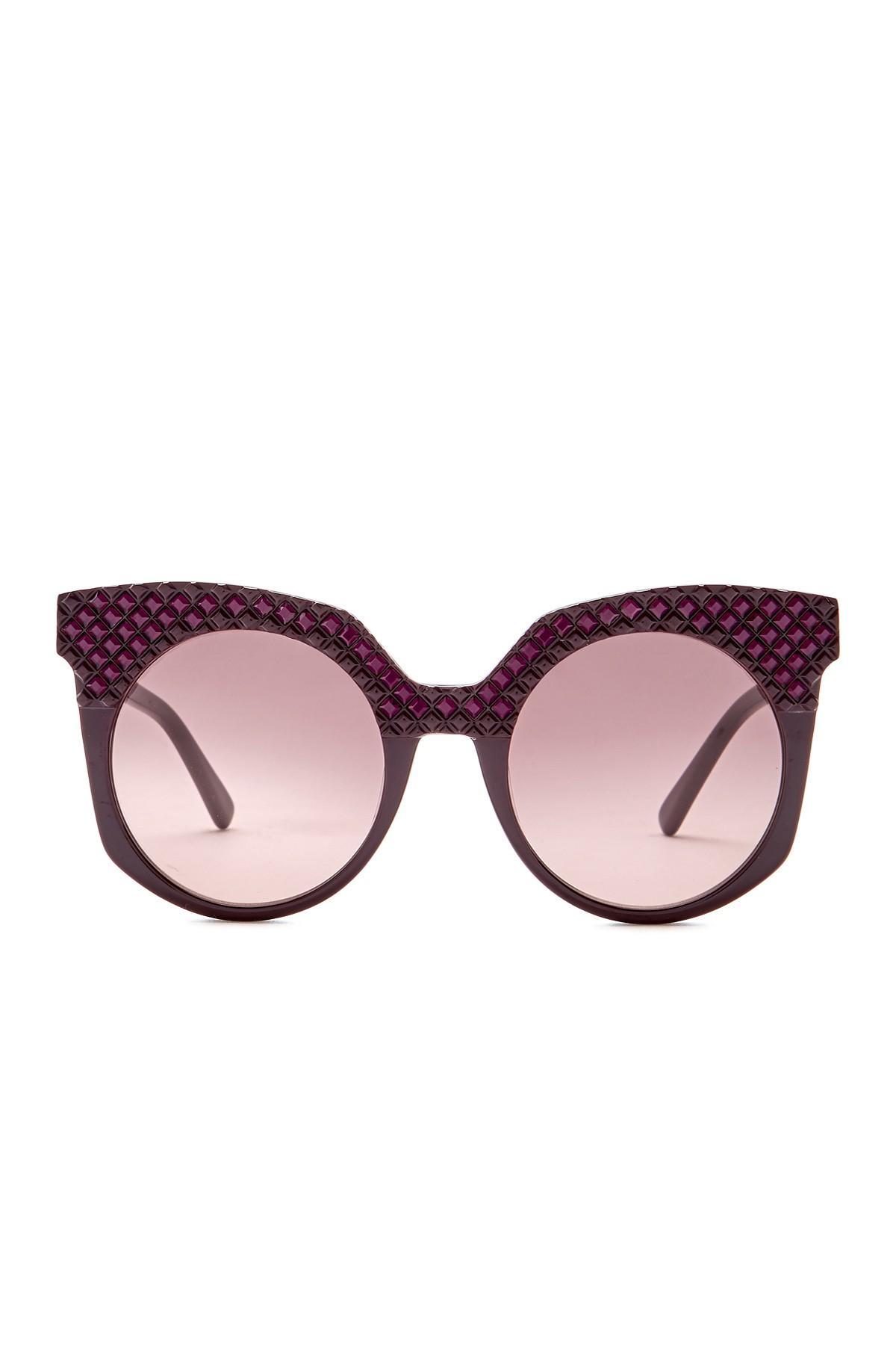 fe7ac402d078f MCM - Purple Women s Cat Eye 52mm Acetate Frame Sunglasses - Lyst. View  fullscreen