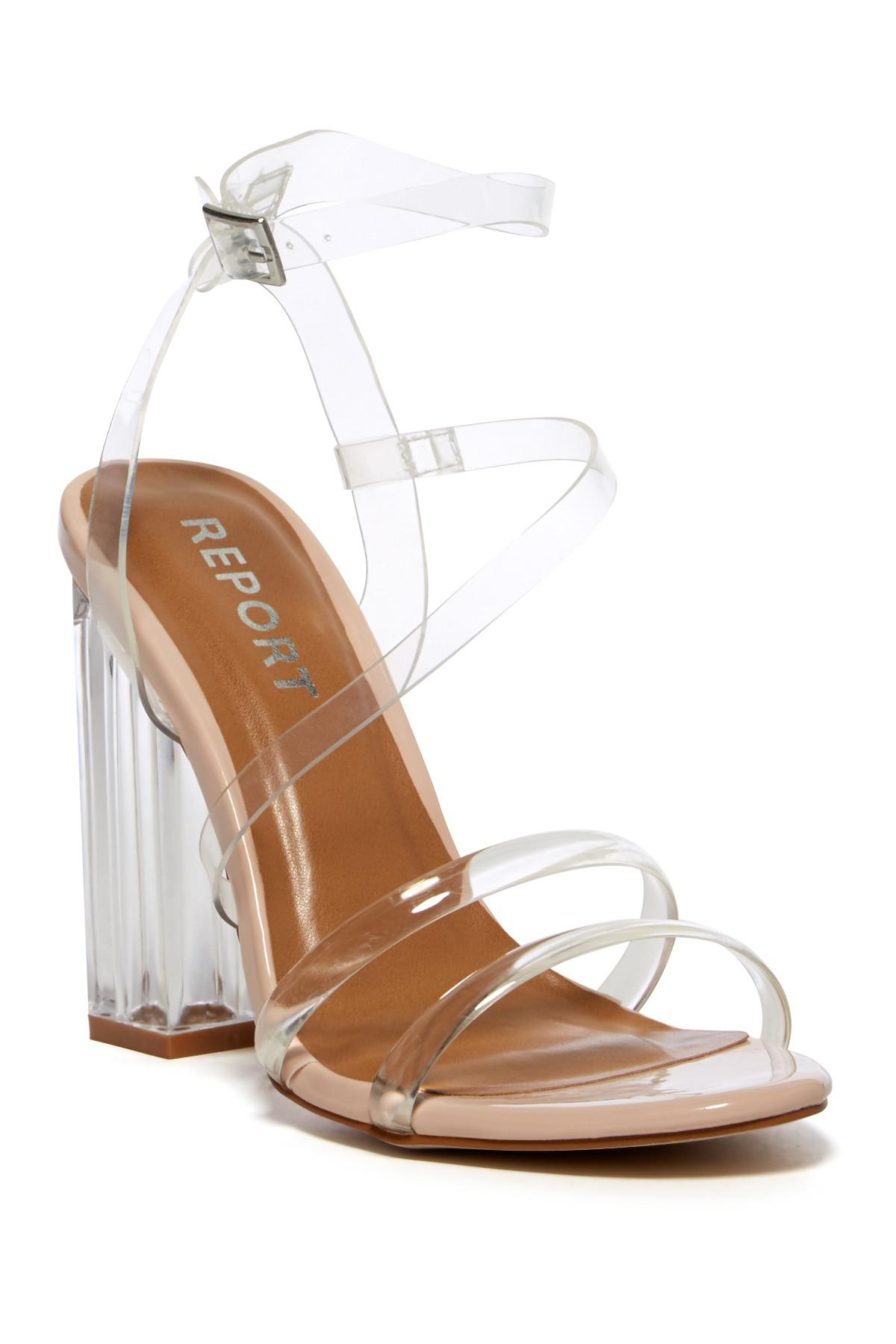 RAYE Aiden Transparent Sandal