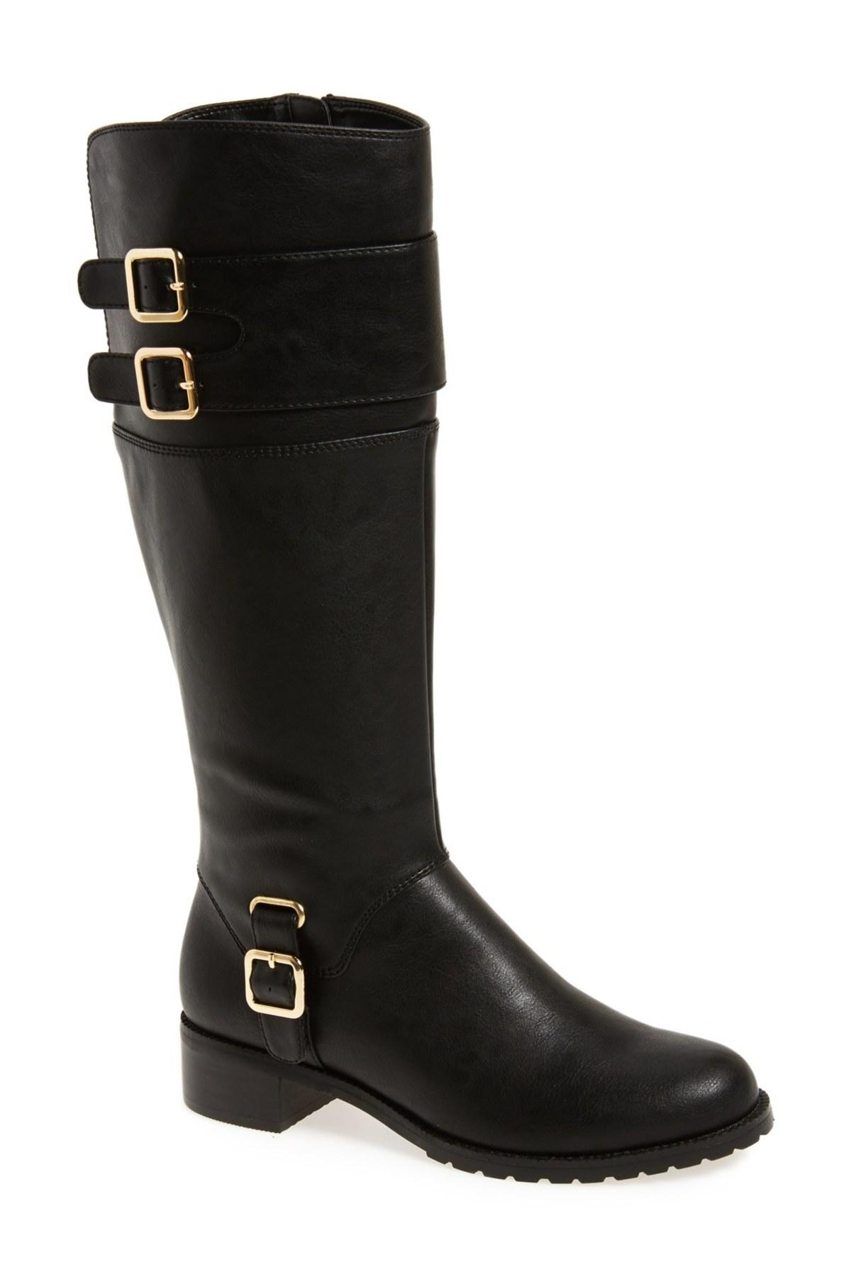 bella vita 39 adriann ii 39 riding boot in black lyst. Black Bedroom Furniture Sets. Home Design Ideas