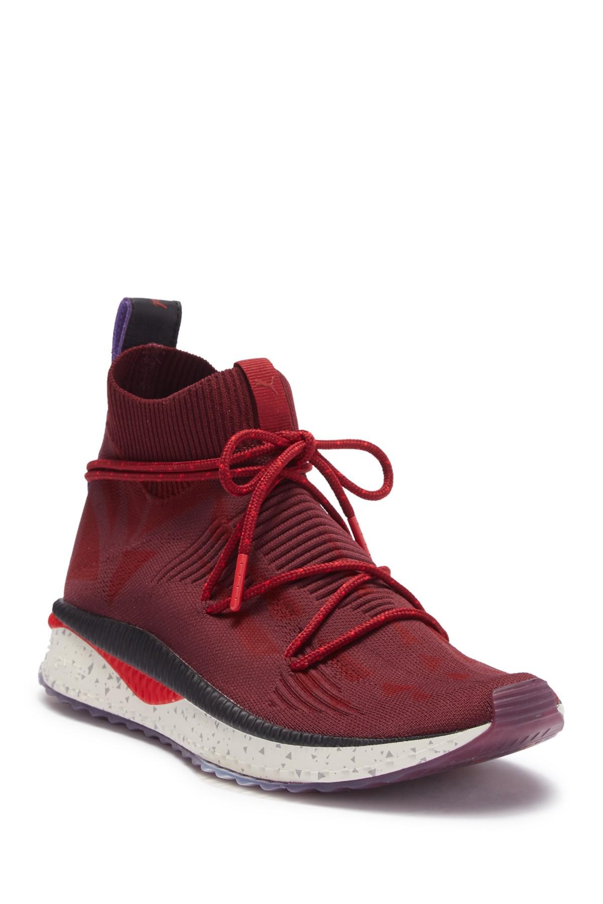 Lyst - PUMA X Naturel Tsugi Evoknit Sock Sneaker in Red for Men 6a6ff0ab5