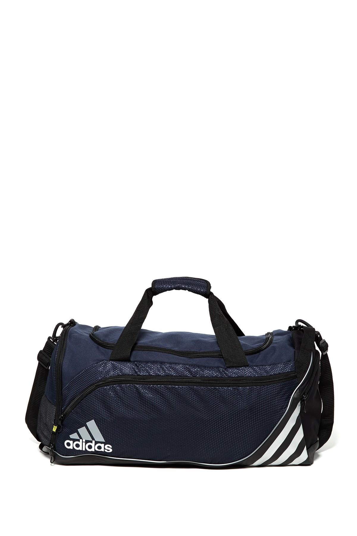 Adidas Originals Team Speed Medium Duffle Bag In Blue For