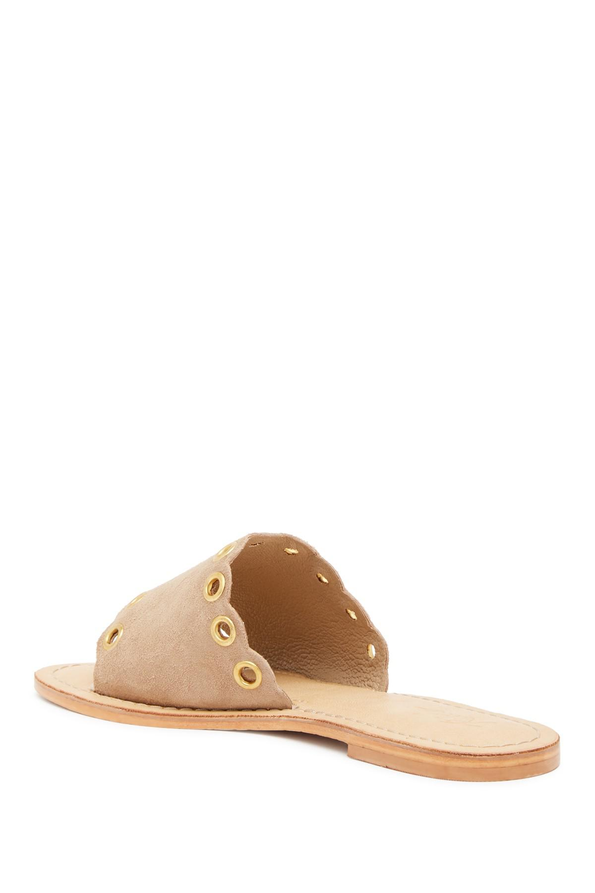 81109de0d787 Rebels - Natural Haley Slide Sandal - Lyst. View fullscreen