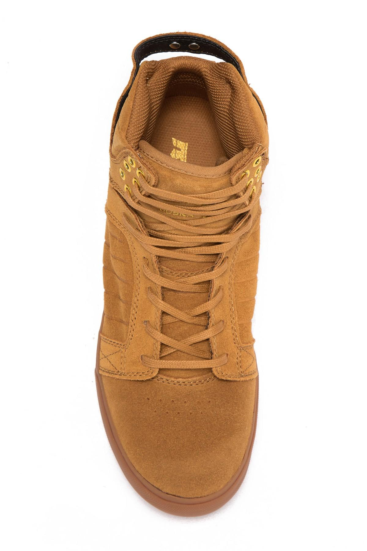 070eed7e080 Supra Skytop High-top Sneaker in Brown for Men - Save 58% - Lyst