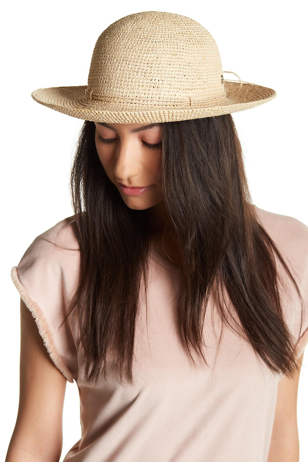 Lyst - Helen Kaminski Caicos Hat in Natural dc6dae471f91