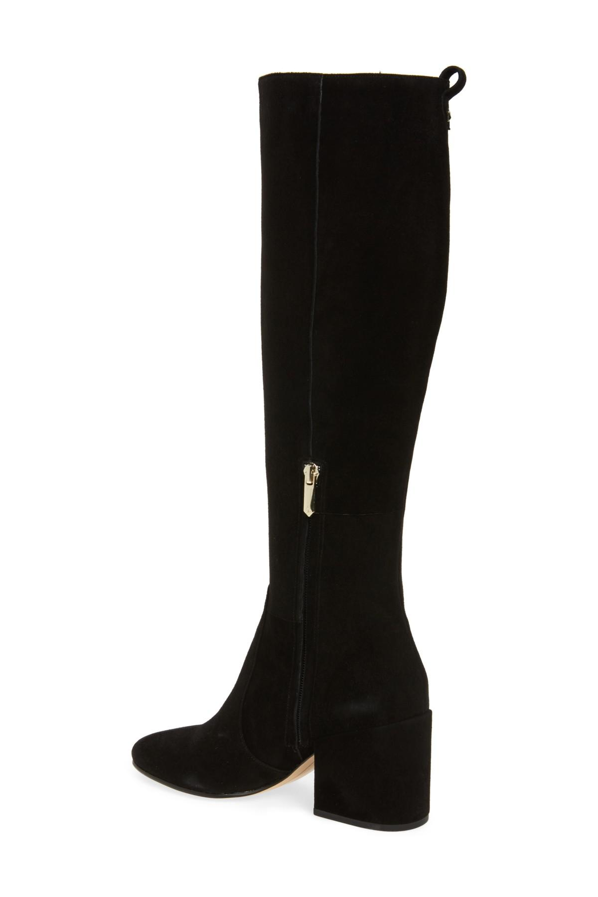 30ae57361 Lyst - Sam Edelman Thora Knee High Boot (women) in Black