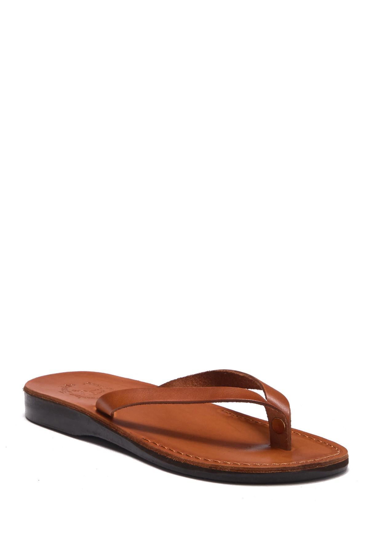db5c3369faf89e Lyst - Jerusalem Sandals Jaffa Thong Sandal for Men