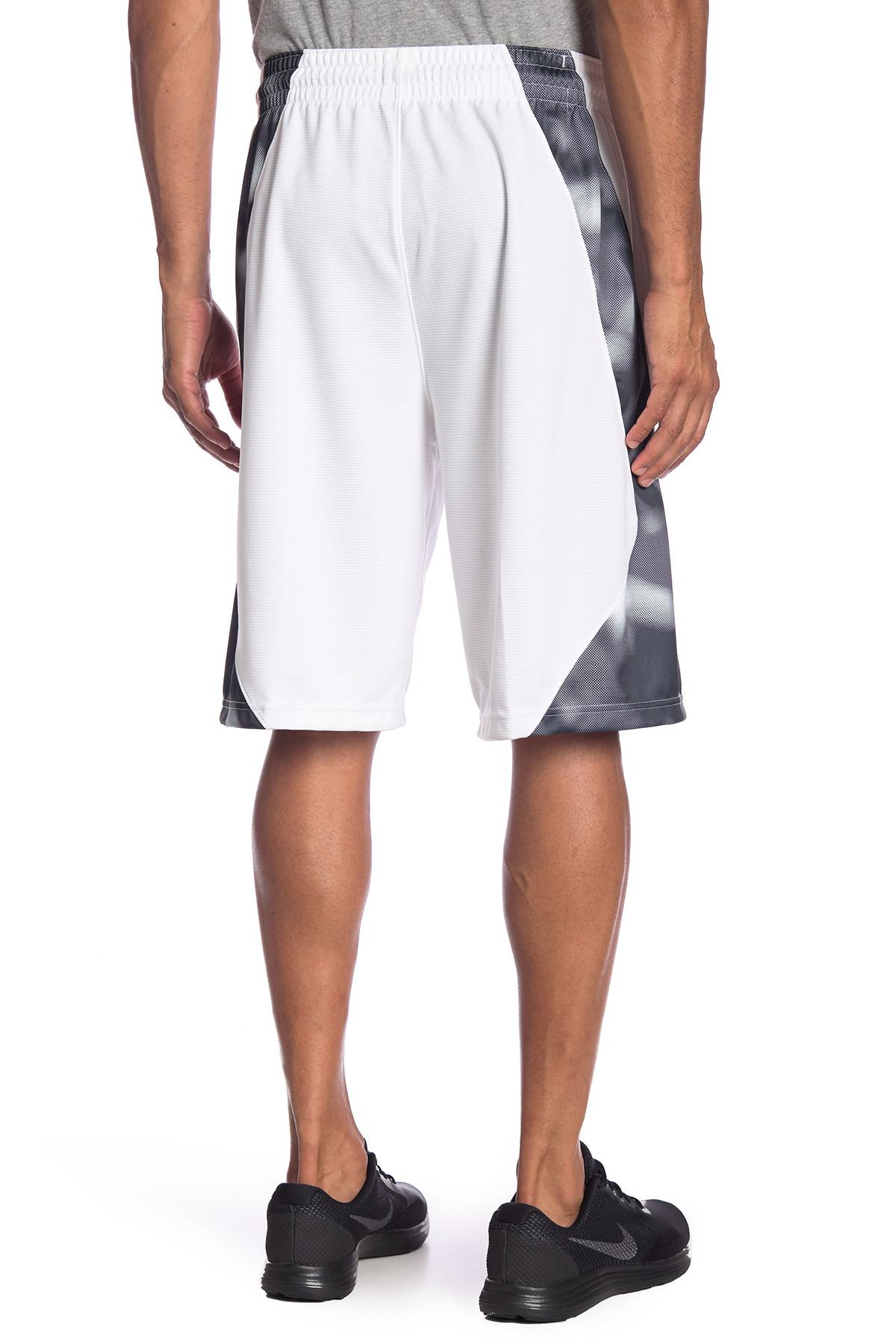 58a5b84f81fb Lyst - Nike Elite Posterize Basketball Shorts in White for Men