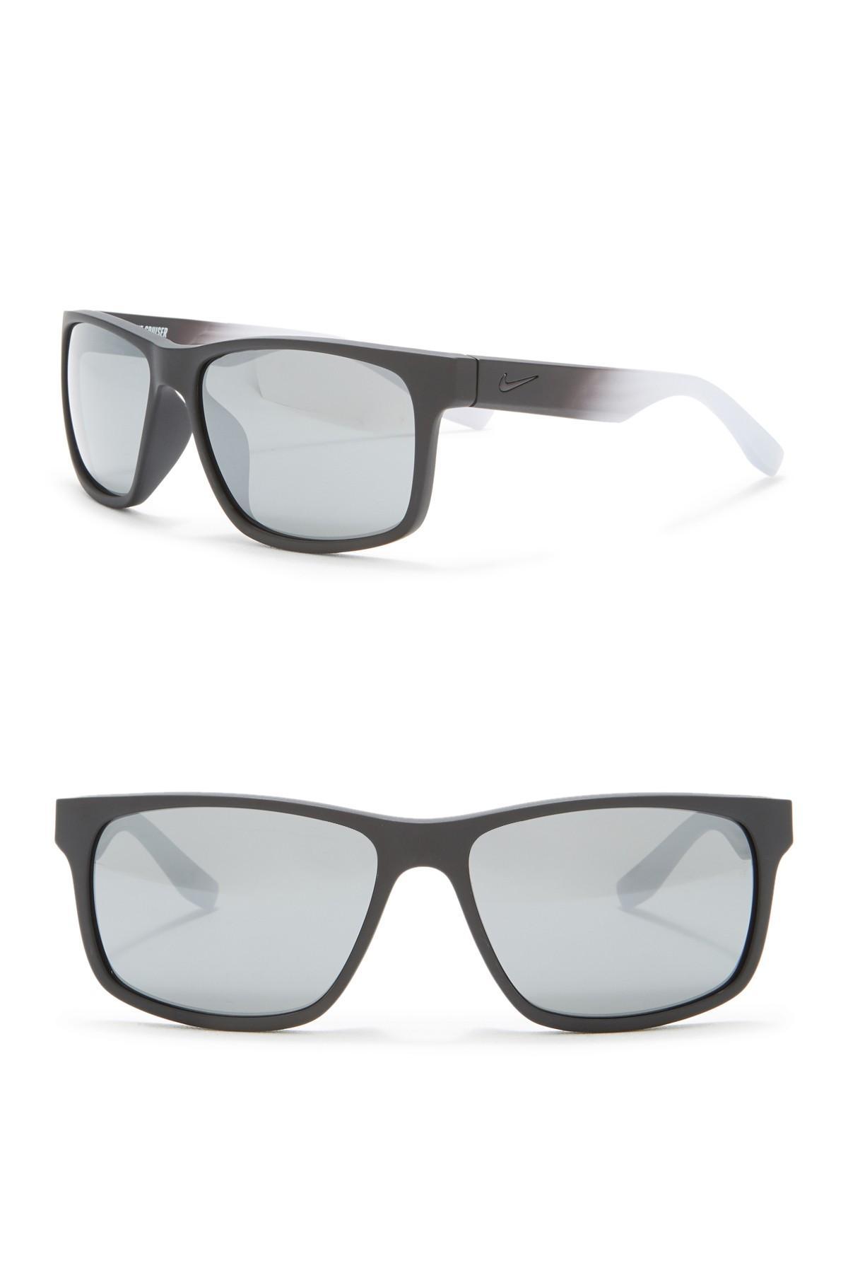 20930eee95 Lyst - Nike Cruiser 59mm Square Sunglasses in Gray for Men