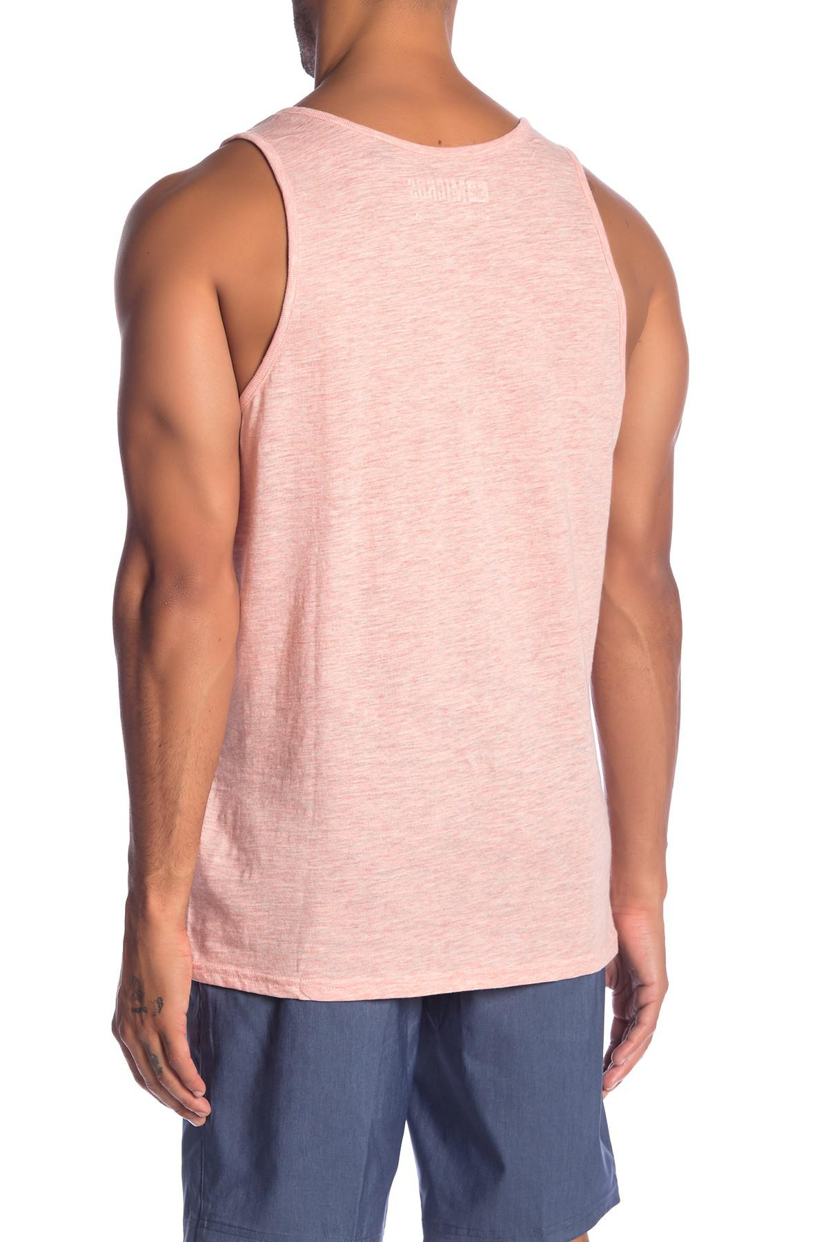 7ae8c4c2d98a9 Lyst - Micros Hoover Graphic Tank Top in Pink for Men