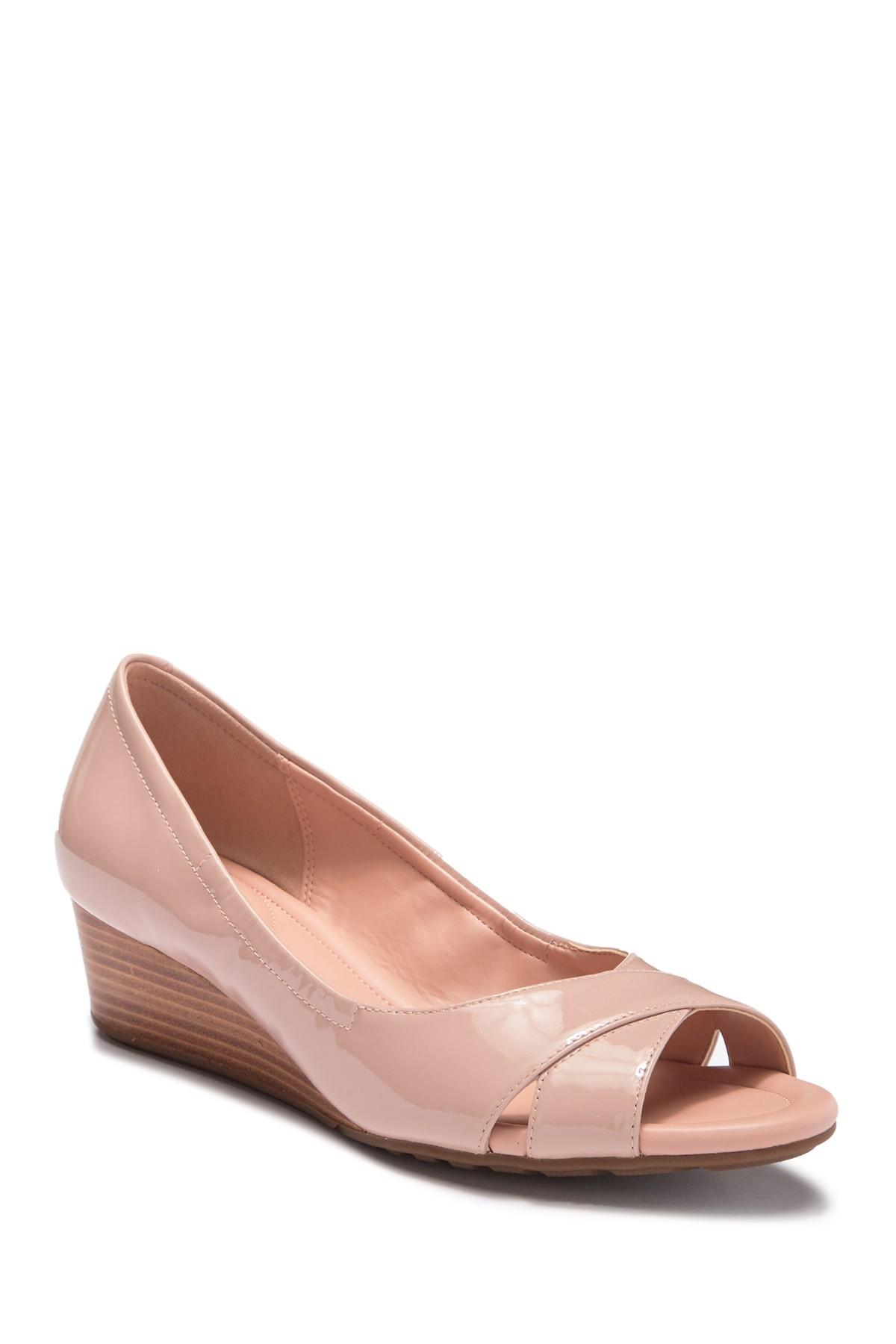 5f5b826b99e Cole Haan. Women s Pink Melina Crisscross Open Toe Wedge Pump.  180  100  From Nordstrom Rack
