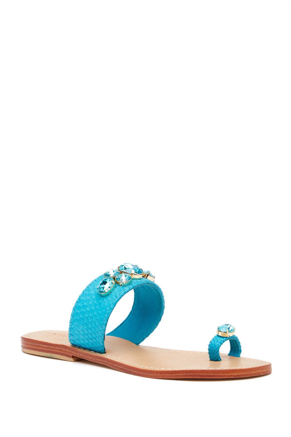 Trina Turk Turquesa Embellished Slip-On Sandal fFivlmdY6n